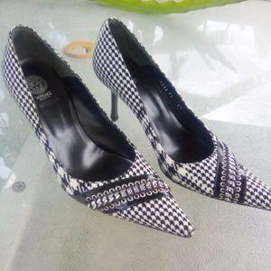 Versace Heels (kitten heels)